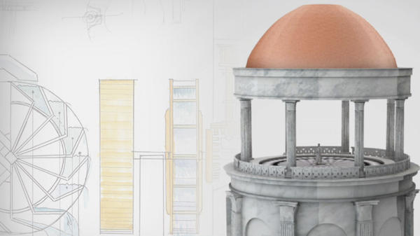Nero's rotating dining room
