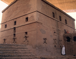 A picture of lalibela
