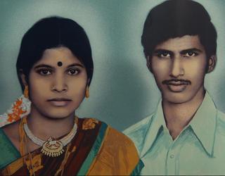 Portrait of Indian Couple