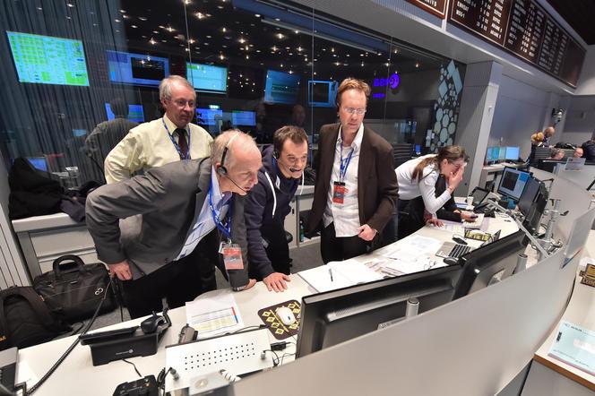 The ESA command center