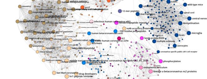 Visualizing the Expanse of Coronavirus Research