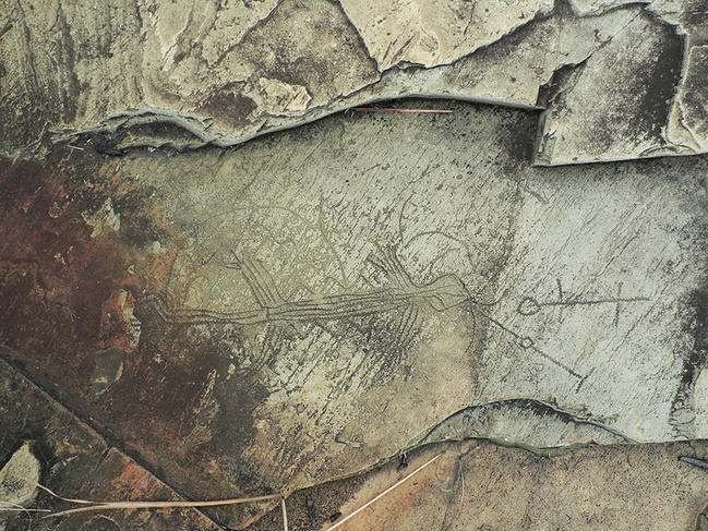 African rock art treasures revealed in the Lovo Massif