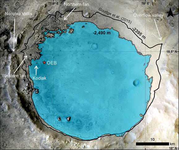 Mars: Jezero crater really was a lake