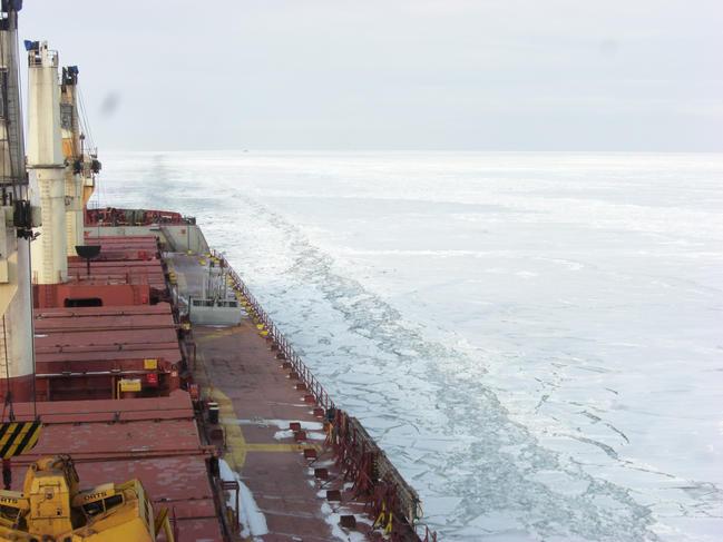 Marine transportation in the Arctic domain