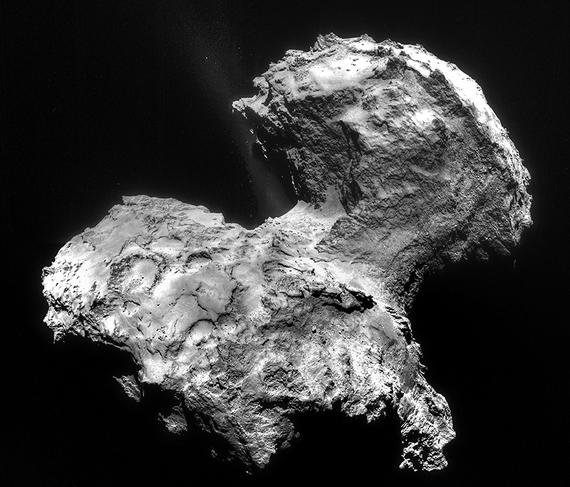 Comète 67P/Churyumov-Gerasimenko.