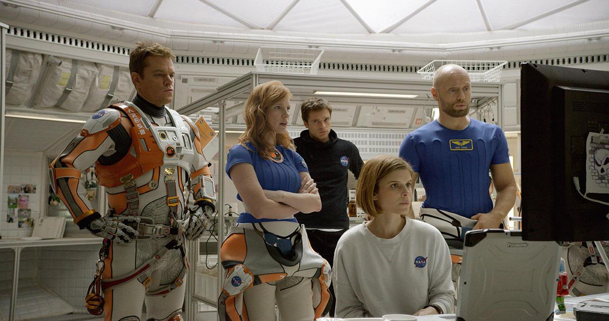 Seul sur Mars, équipage