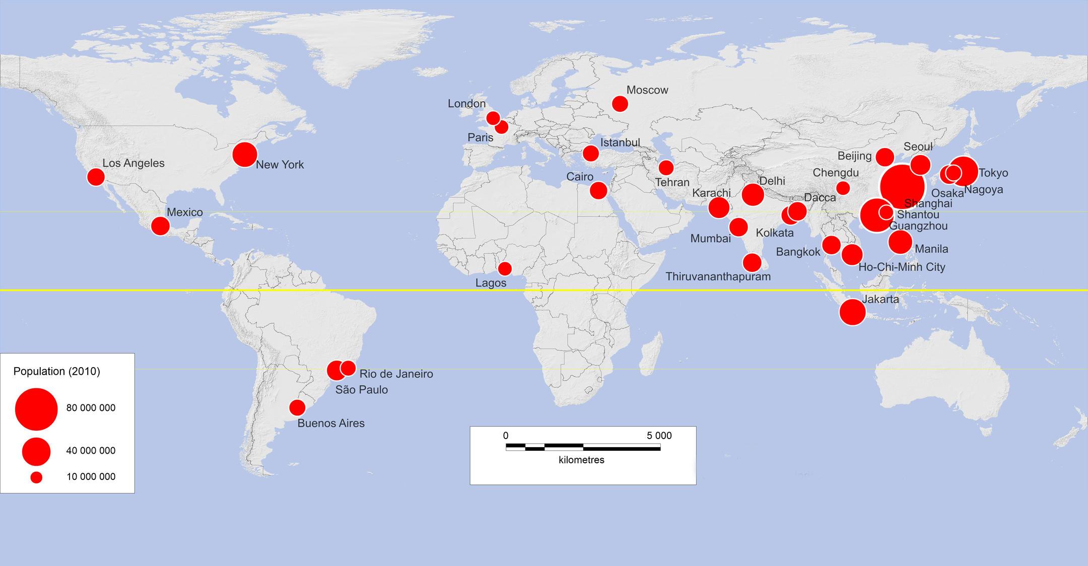 Everlarger Cities CNRS News