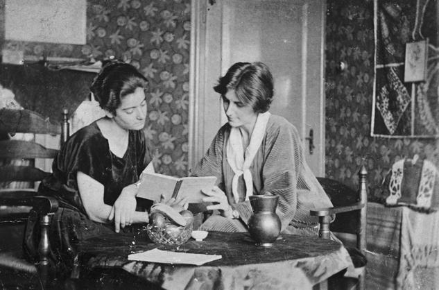 Frieda Belinfante et sa compagne