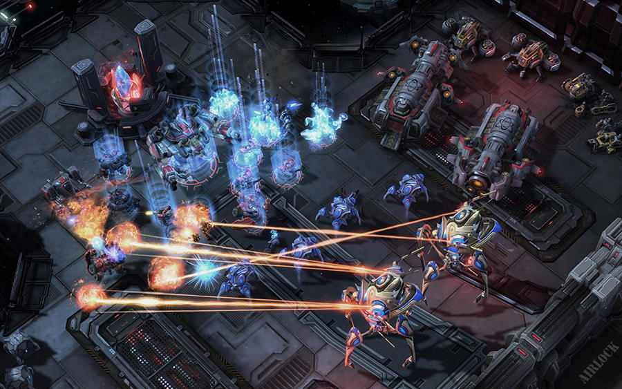 Ai 39 s next move real time strategy games cnrs news for Star craft 2 free 2 play