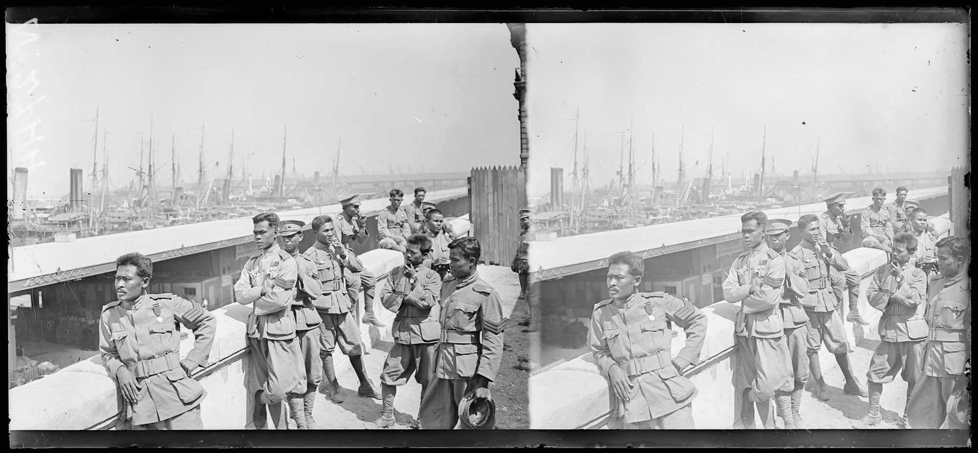 Garde Du Corps Marseille world war i: asians on the european front | cnrs news