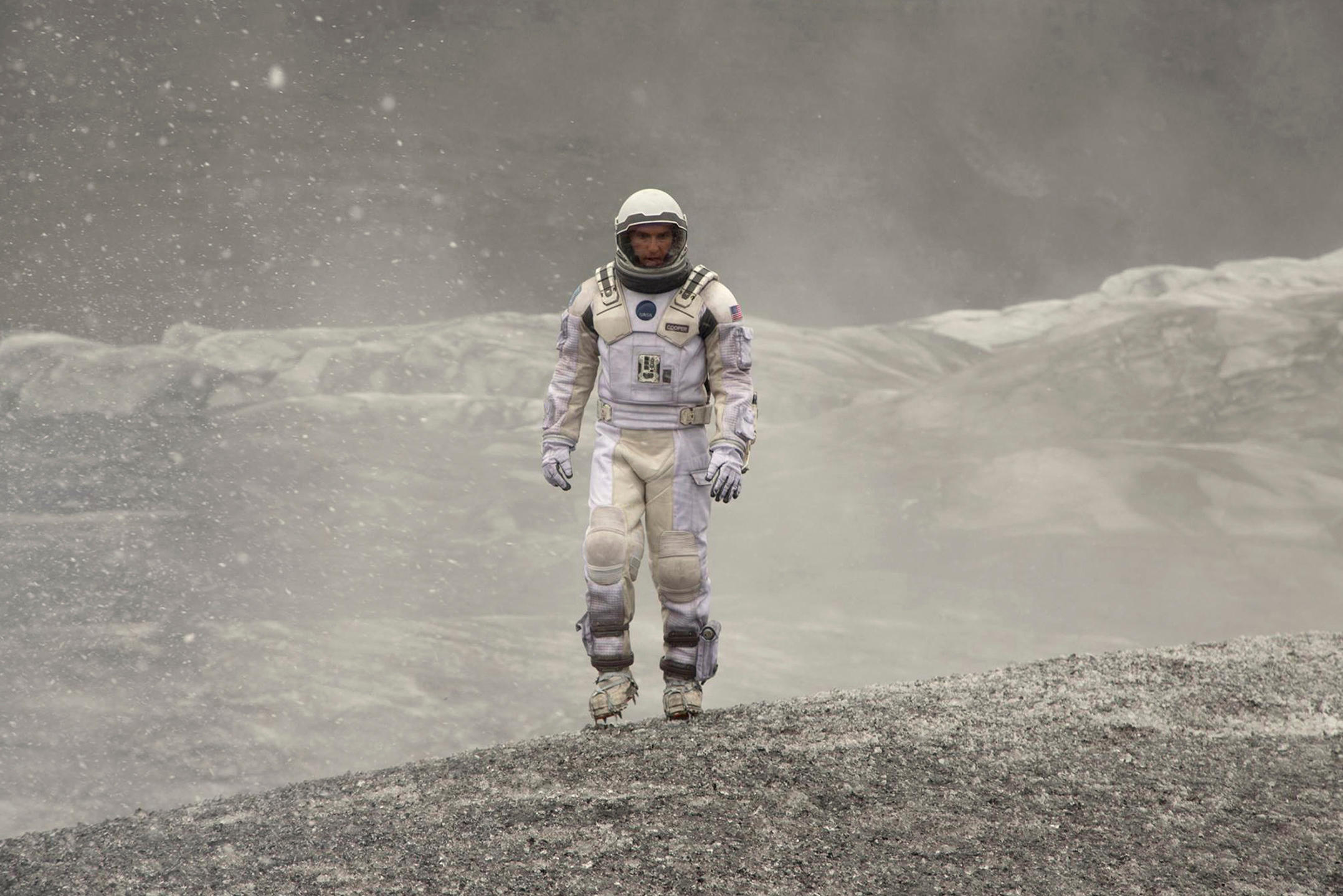 Scène du film Interstellar