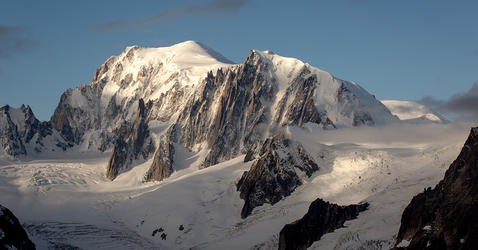 Cosmogenic dating glaciers mountain